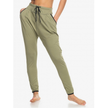Women's Love Aint Enough Elastic Waist Non-Denim Pants by Roxy Footwear in Chelan WA