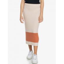 Women's On My Cloud Stripe Smocked Knit Skirt by Roxy Footwear