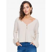 Women's Listen Goodbye V-Neck Sweater by Roxy Footwear in Chelan WA