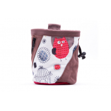 Canvas Print Chalk Bag (Owl) by Evolv