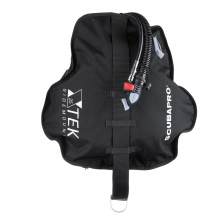X-TEK Sidemount Wing, Black, 12LT
