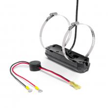 XTM 9 HW MSI T - HELIX MEGA SI+, DI+, Dual Spectrum CHIRP w/ Temp, Trolling Motor Transducer