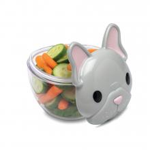Snack Container - Bulldog