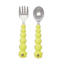 Spoon & Fork Set - Caterpillar