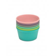 Rainbow Silicone Food Cups - 6 pcs