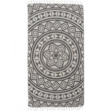 Rust Mandala Towel
