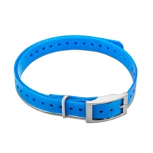 "Garmin 3/4"" Square Buckle Collar Strap (Blue) by Garmin in Penticton Bc"