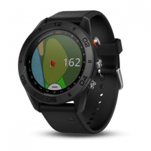 Garmin Approach S60, Black with Black Band