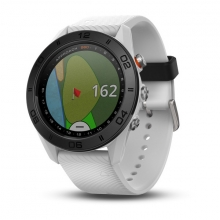 Garmin Approach S60, White with White Band