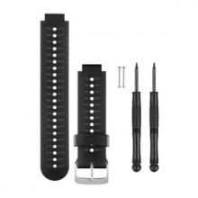 Garmin Black and Gray Silicone Watch Band by Garmin in Medicine Hat Ab