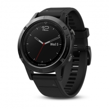 Garmin Black fēnix 5 Sapphire with Black Band by Garmin in Fort Mcmurray Ab