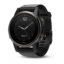 Garmin Black fēnix 5S Sapphire with Black Band by Garmin in Mobile Al