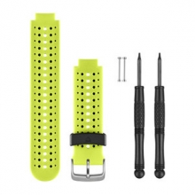 Garmin Force Yellow Silicone Watch Band by Garmin in Richmond Bc