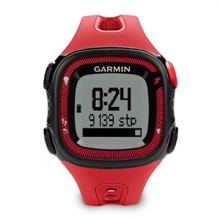 Garmin Forerunner 15, Americas and Pacific, Red/Black Large by Garmin