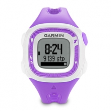 Garmin Forerunner 15, Americas and Pacific, Violet/White Small by Garmin