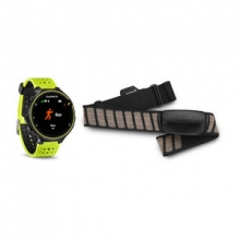 Garmin Forerunner 230, North America, Force Yellow Silicone Bundle by Garmin in Edmonton Ab