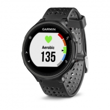 Garmin Forerunner 235, Black and Gray Silicone by Garmin in Glastonbury Ct