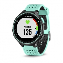Garmin Forerunner 235, Frost Blue Silicone by Garmin in Greenwood Village Co