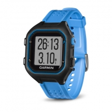 Garmin Forerunner 25, North America, Black/Blue by Garmin in Anchorage Ak