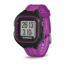 Garmin Forerunner 25, North America, Black/Purple by Garmin in Anchorage Ak
