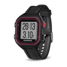 Garmin Forerunner 25, North America, Black/Red by Garmin in Duncan Bc