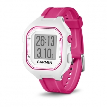 Garmin Forerunner 25, North America, White/Pink by Garmin in Birmingham Al