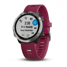 Garmin Forerunner 645 Music, Cerise by Garmin in Fort Mcmurray Ab