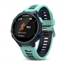 Garmin Forerunner 735XT, North America, Midnight Blue/Frost Blue by Garmin in Greenwood Village Co