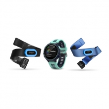 Garmin Forerunner 735XT, North America, Midnight Blue/Frost Blue Tri-Bundle