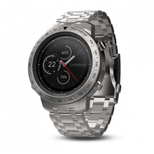 Garmin fēnix Chronos with Brushed Stainless Steel Watch Band by Garmin in Carlsbad CA