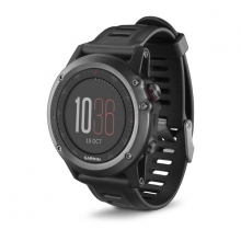 Garmin fēnix 3, North America, Gray with Black Band by Garmin in Sherwood Park Ab