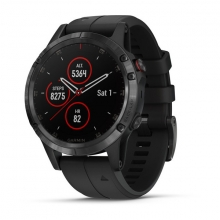 Garmin fēnix 5 Plus Sapphire, Black with Black Band by Garmin in Sunnyvale Ca