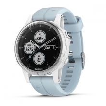 Garmin fēnix 5S Plus, White with Sea Foam Band