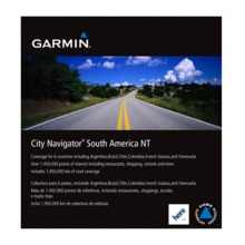 Garmin microSD™/SD™ card: City Navigator® South America NT by Garmin