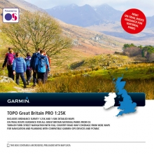Garmin microSD™/SD™ card: TOPO Great Britain PRO 1:25K by Garmin in Leduc Ab