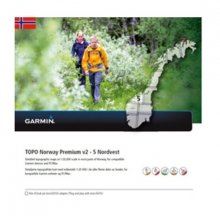 Garmin microSD™/SD™ card: TOPO Norway PREMIUM 5 - Nordvest by Garmin in Encino Ca