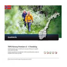 Garmin microSD™/SD™ card: TOPO Norway PREMIUM 6 - Trondelag by Garmin in Encino Ca
