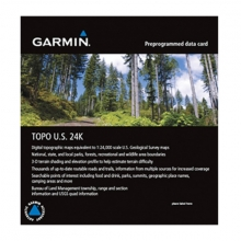 Garmin microSD™/SD™ card: TOPO US 24K West by Garmin in Calgary Ab