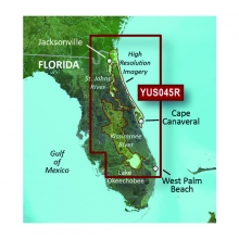 microSD/SD card: YUS045R – Florida East Coast + St. John River System + Kissimmee River System by Garmin in Terrace Bc
