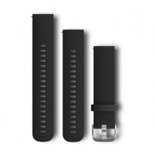 Garmin Quick Release Band, Black Silicone Band with Stainless Hardware by Garmin in Edmonton Ab