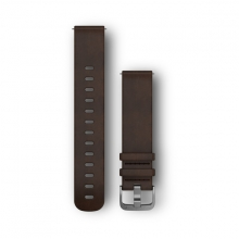 Garmin Quick Release Band, Dark Brown Leather Band by Garmin in Santa Monica CA