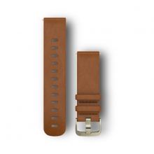 Quick Release Band, Light Brown Leather Band
