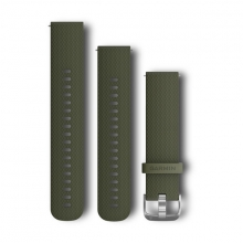 Garmin Quick Release Band, Moss Silicone by Garmin in Penticton Bc