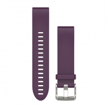 Garmin QuickFit® 20 Watch Bands, Amethyst Purple Silicone