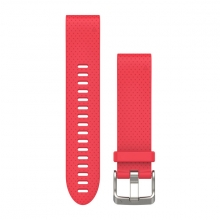 Garmin QuickFit® 20 Watch Bands, Azalea Pink Silicone by Garmin in Garmisch Partenkirchen Bayern
