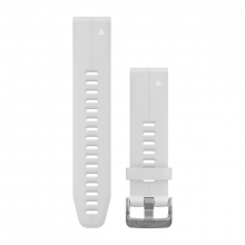 Garmin QuickFit® 20 Watch Bands, Carrara White Silicone by Garmin in Garmisch Partenkirchen Bayern