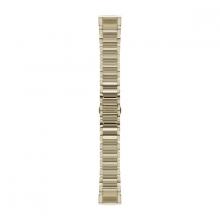 Garmin QuickFit® 20 Watch Bands, Champagne Stainless Steel by Garmin