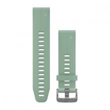 Garmin QuickFit® 20 Watch Bands, Grayed Jade Silicone by Garmin in Carlsbad CA