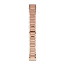 Garmin QuickFit® 20 Watch Bands, Rose Gold-tone Stainless Steel by Garmin in Courtenay Bc