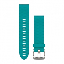 Garmin QuickFit® 20 Watch Bands, Turquoise Silicone